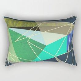 ColorBlock VI Rectangular Pillow