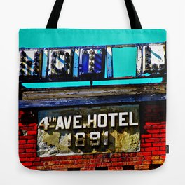 4th Avenue Hotel Tote Bag