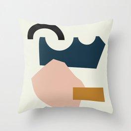 Shape Study #29 - Lola Collection Throw Pillow