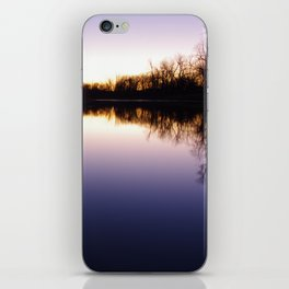 Lakeside Sunrise iPhone Skin