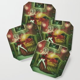 Absinthe Fever Coaster