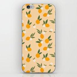 Cute Oranges iPhone Skin