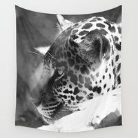 cheetah Wall Tapestries featuring Cheetah by Shea Saulino