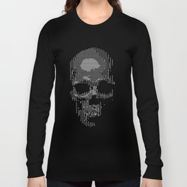 Squared Off Skull Long Sleeve T-shirt