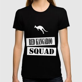 join the red kangaroo squad T-shirt