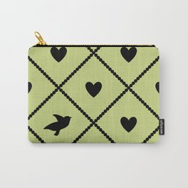 Always Near (from the Valentine set) (colors: legally lime) Carry-All Pouch