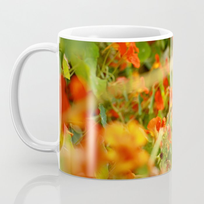 Nasturtiums Coffee Mug