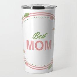 Happy Mothers Day Message Best Mom Grandma Gift Travel Mug