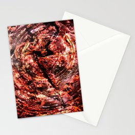 Petrified Tree Rings Stationery Cards