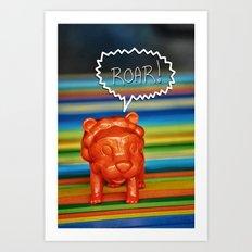 I Am Lion... Art Print