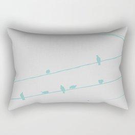 PIGEONS Rectangular Pillow
