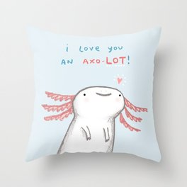 Lotl Love Throw Pillow