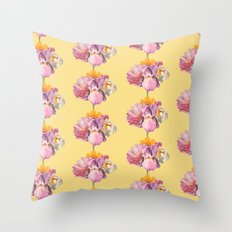 polly (pattern) Throw Pillow