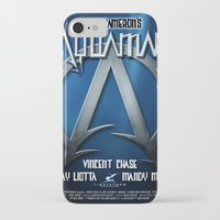 aquaman iPhone & iPod Cases featuring Aquaman Replica Movie Poster by cwaldau