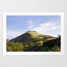 Sunny Mountain Sunrise Art Print