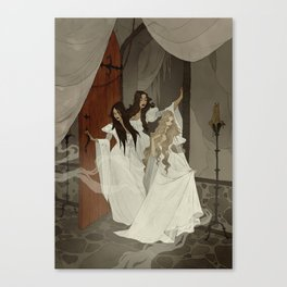 Those Weird Sisters Canvas Print