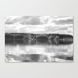 Reflections On A Lake #decor #society6 Canvas Print