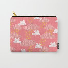 Rain Birds - Pink Carry-All Pouch