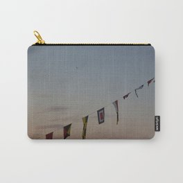 Flags and sunset Leith Edinburgh Carry-All Pouch
