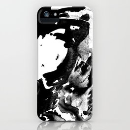 Drilling for that black gold in our oceans, black wave iPhone Case
