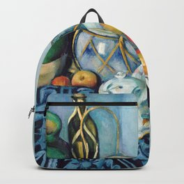 Still Life with Apples 1 by Paul Cézanne Backpack