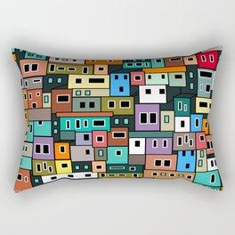 Urban Favela Rectangular Pillow