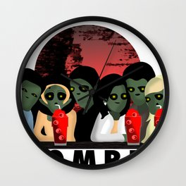 My Zombie Friends Wall Clock