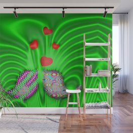 Springtime in forest ... Wall Mural
