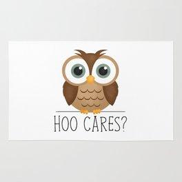 Hoo Cares? Rug