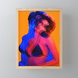 Vibrant Liz Framed Mini Art Print