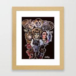 Goblin King Fan Art Framed Art Print
