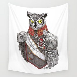 General Owlington Wall Tapestry