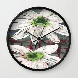 Whispers of Spring Wall Clock
