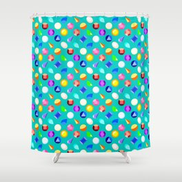 Gems Shower Curtain