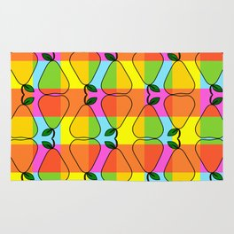 Colorful pear pattern Rug