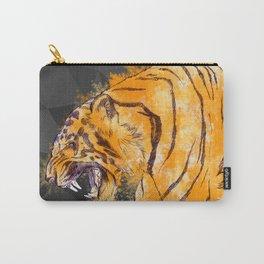 Splash Tiger - Dark Carry-All Pouch
