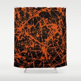 Splat! 13 (Happy Hallween) Shower Curtain
