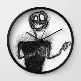 Smiling Stalker Wall Clock