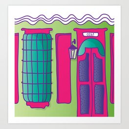 casita my home Art Print