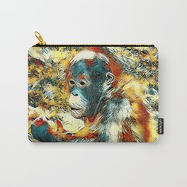 AnimalArt_OrangUtan_20170906_by_JAMColors Carry-All Pouch