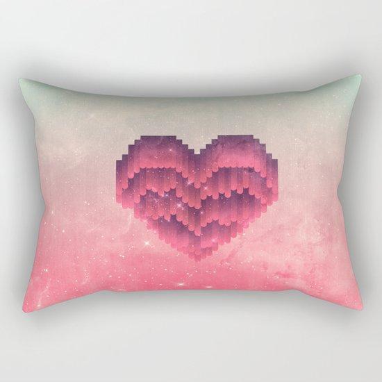 Interstellar Heart IV Rectangular Pillow