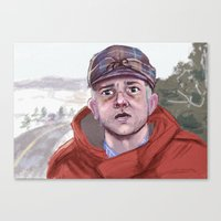 fargo Canvas Prints featuring Lester - Fargo by Charlotte Foley