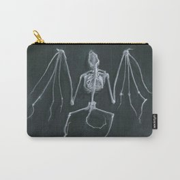 Bat Skeleton Carry-All Pouch