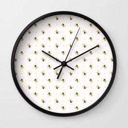 Floral Petal Shapes Wall Clock