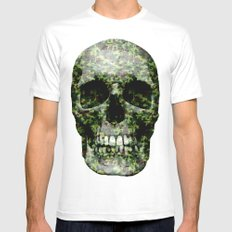 camou is new black Mens Fitted Tee White MEDIUM