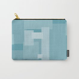 Matted Shades of Blue - Color Therapy Carry-All Pouch
