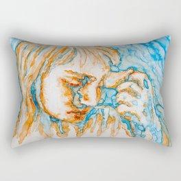 Undergo Rectangular Pillow