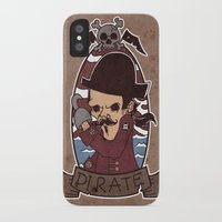 pirate iPhone & iPod Cases featuring Pirate by Jelot Wisang