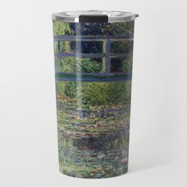 Water Lilies and the Japanese Bridge by Claude Monet Travel Mug