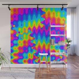 Amazing Acid Rainbow Wall Mural